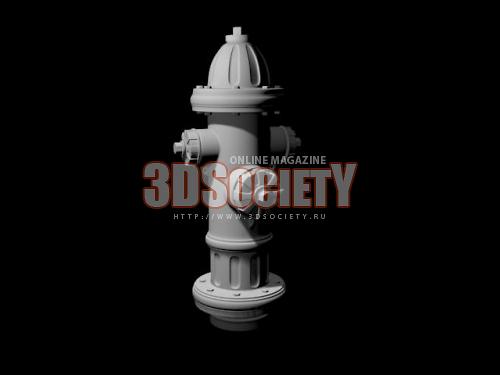 3D модель  Гидрант