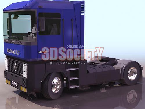 3D модель Magnum