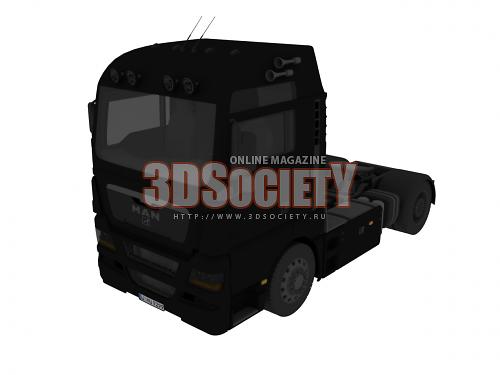 3D модель  Man