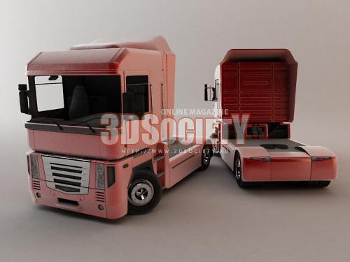 3D модель  Renault