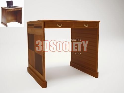 3D модель  стол