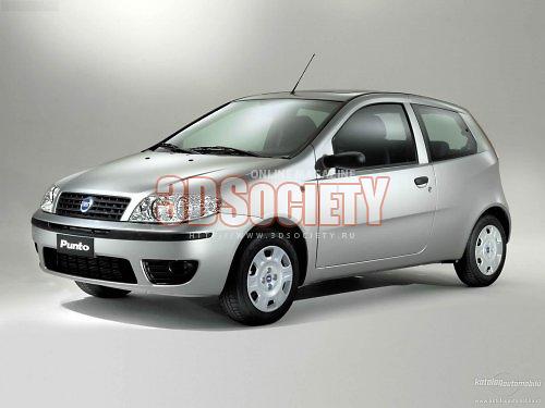 3D модель Fiat Punto