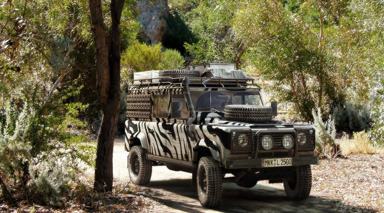 "Chester ""Land Rover Defender"""