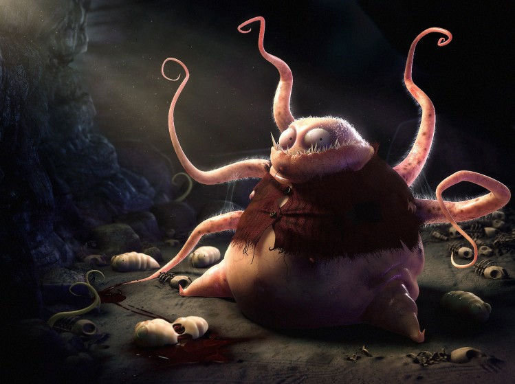 """In-Poculis """"Day of the tentacles"""""""
