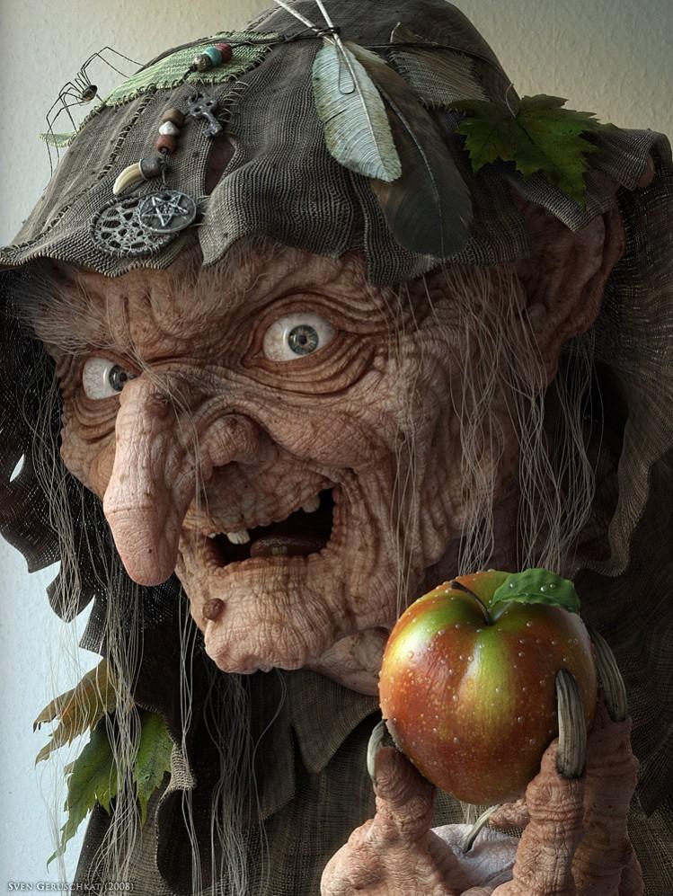 """svenger """"Evil Witch"""""""