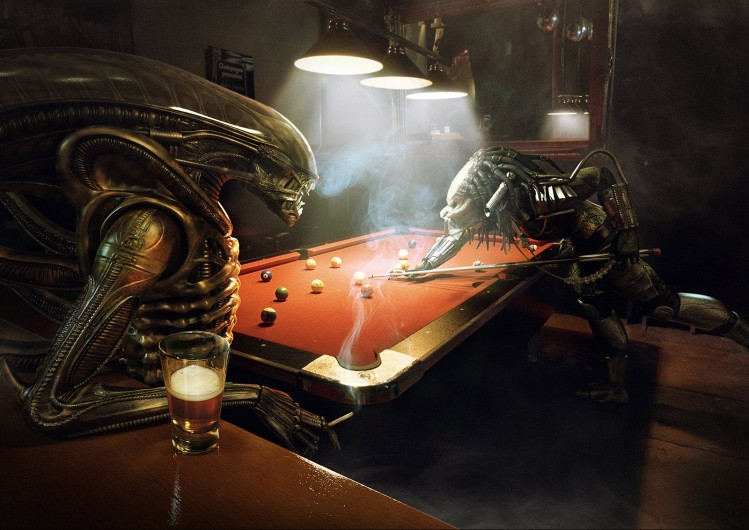 "Verasl ""Alien Vs Predator: Pool"""