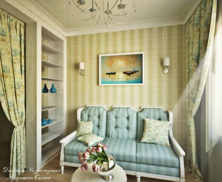 """gerda1328 """"Маленькая комната для чаепития и приема гостей."""""""