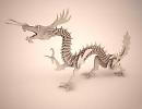 3D модель Декор дракона