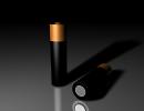3D модель  3d батарейка