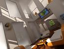 3D модель  3D модель Интерьер гостиной