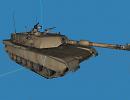 3D модель  Abrams m1