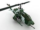 3D модель AH 1W SUPER COBRA