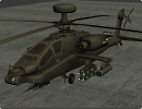 3D модель  ah-64d apache longbow