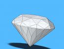 3D модель  Алмаз