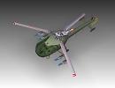 3D модель  Alouette III