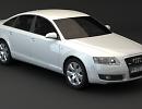 3D модель  Audi A6