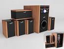 3D модель Аудиосистема genius