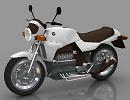 3D модель BMW K 100 мотоцикл