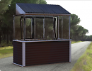 3D модель  балкон