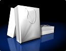 3D модель Бумажные пакеты