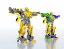 3D модель  bumblbee rigged
