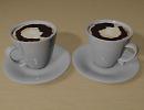 3D модель  чашки