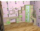 3D модель детская комната