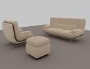 3D модель  диван