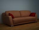 3D модель  Диван Ассоль