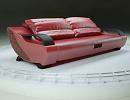 3D модель  диван омега