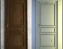 3D модель дверь состаренная