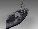 3D модель  E-boat