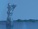 3D модель  fantasy girl