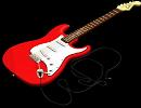 3D модель Fender bass гитара