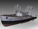 3D модель  Fishing Boat