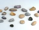 3D модель  garden stones камни