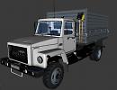 """3D модель  Газ-САЗ-2506 """"Земляк"""" 3D модель"""