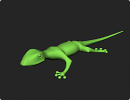 3D модель  Geco