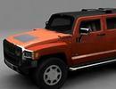 3D модель Hummer H3