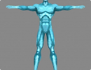 3D модель  ice man