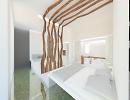3D модель  интерьер номер отеля