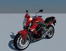 3D модель  Kawasaki ER7