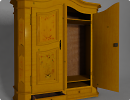 3D модель Большой шкаф