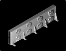 3D модель Конденсатор воздушного охлаждения