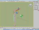 3D модель Кран строительный 3 штуки