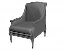 3D модель  кресло