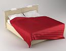 3D модель Кровать Mayorka