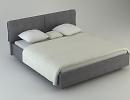 3D модель Кровать Sarong