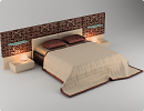 3D модель Кровать Sicilia