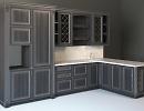 3D модель  кухни Лорена.